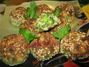 Овощные котлеты с брокколи