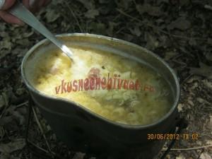 Суп на костре