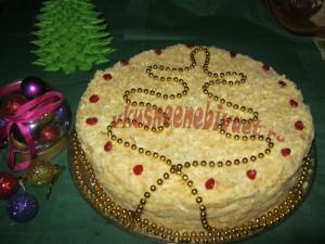 """Готовый торт """"Наполеон"""" домашний"""