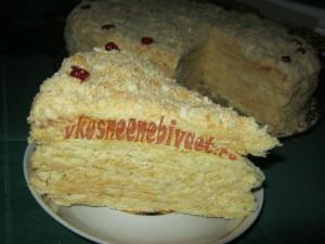 """Торт """"Наполеон"""" в разрезе"""